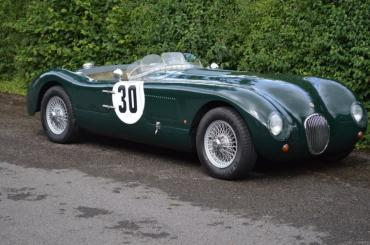 Jaguar C Type by PROTEUS